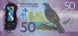Bancnotă 50 dolari 2016 Noua Zeelandă Unc - polimer,P# 194