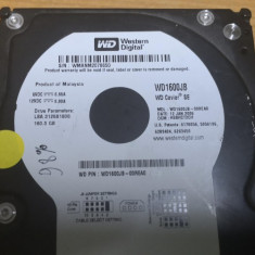 HDD PC Western Digital 160gb IDE 98% Viata #61488RAZ, 100-199 GB