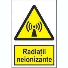 Indicator Radiatii neionizante - Semn Protectia Muncii