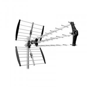 Antena DVB-T Cabletech, de exterior, activa, 27 elementi