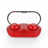 Touch Wireless Bluetooth Headset Red