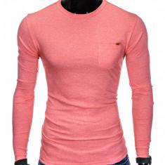 Bluza pentru barbati din bumbac corai simpla slim fit L103