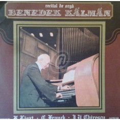 Benedek Kalman - Recital de orga (Vinil)