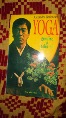 yoga / gandire si tehnici 206pagini foto
