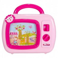 Jucarie interactiva bebe, 23x22x5cm, cu sunete, roz