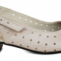 Pantofi dama perforati Ninna Art 252