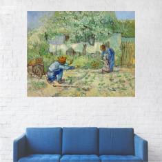 Tablou Canvas, Oameni in Gradina - 40 x 50 cm