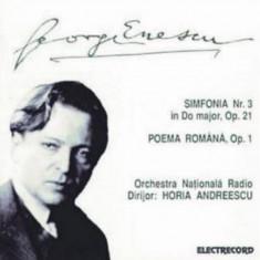 CD George Enescu, Orchestra Națională Radio Dirijor: Horia Andreescu
