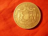 Moneda 5 lei 1883 Carol I , argint , cal. Buna-F.Buna