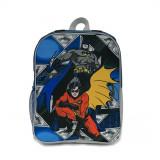 Ghiozdan cu 1 compartiment si pelerina Batman