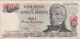 Argentina 10 pesos 1983