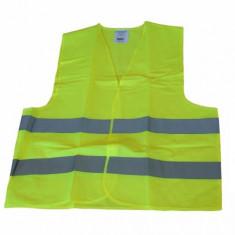 Vesta reflectorizanta omologata RoGroup verde deschis