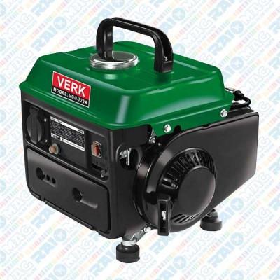 Generator curent electric pe benzină, 650 W, motor 2 timpi, Verk foto