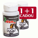 MSM 1000mg, 30cps, Adams Vision 1+1