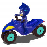 Motocicleta Dickie Toys Eroi in Pijama Moon Rover cu figurina Cat Boy