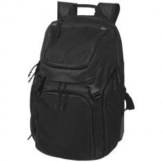 Rucsac Laptop 17 inch, Everestus, HX, pu poliester, ripstop poliester si tarpaulin, negru, saculet si eticheta bagaj incluse