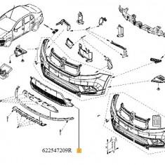 Grila Inferioara Bara Fata Logan Ii Facelift Renault 622547209R