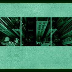 Set tablou fosforescent Zgarie nori