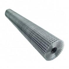 Plasa sarma Zn sudata 0.5x10 m 13x13x0.9 mm