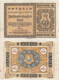 1923 (17 VIII), 500.000 mark - Germania (Pasing)!