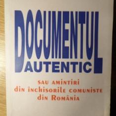 DOCUMENTUL AUTENTIC SAU AMINTIRI DIN INCHISORILE COMUNISTE DIN ROMANIA-SLOMO SITNOVITZER