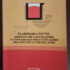 Elaborarea fontei, asitata de calculator