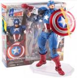 Cumpara ieftin Figurina CAPITANUL AMERICA 16cm, captain america capete interschimbaile Avengers