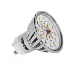 Bec LED Vipow ZAR0308 4W GU10 420 lm lumina alba calda A+