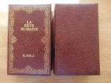 Cumpara ieftin ZOLA- LA BETE HUMAINE, NANA- doua volume, edite bibliofila, in franceza, R4C