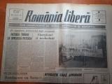 """Ziarul romania libera 28 februarie 1990-art. """" revolutie fara aprobare """""""