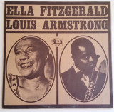 Vinil Ella Fitzgerald&Louis Armstrong-Archive Of Jazz Vol 11,Germany1980,VG+/VG+