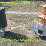 Instalatie pt distilat Tuica,Cazan Cupru,60 litri+Accesori necesare!!!