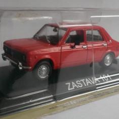 Macheta Zastava 101 1971 - DeAgostini Masini de Legenda 1/43
