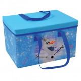 Cumpara ieftin Cutie pentru depozitare jucarii Copii transformabila Elsa si Anna