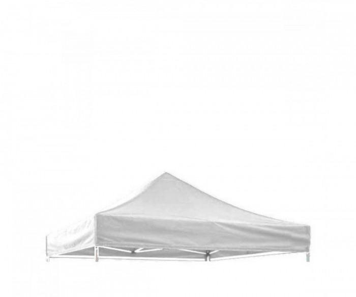 Prelata acoperis cort 3 x 3 m ,impermeabila, Alb