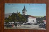 Uioara - Biserica greco-catolica / Marosujvar - animata , trasuri, Circulata, Printata