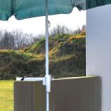 Suport umbrela pentru balustrada balcon
