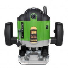 Masina de frezat pentru lemn Procraft, 1700 W, 16000-30000 rpm, 50 mm, accesorii incluse, Verde/Negru