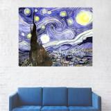 Tablou Canvas, Pictura Sat - 40 x 50 cm