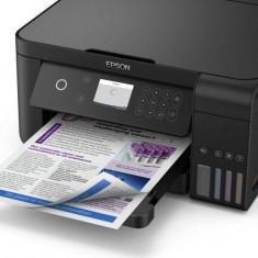 Multifunctional inkjet color epson ecotank ciss l6160 dimensiune a4 (printarecopiere scanare) printare borderless viteza 33ppm