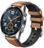 Smartwatch Huawei Watch GT Fortuna-B19V, Amoled 1.39inch, 16MB RAM, 128MB Flash, Bluetooth (Argintiu/Maro)