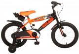 Bicicleta pentru baieti Volare Sportivo, 16 inch, culoare portocaliu neon / negrPB Cod:2063