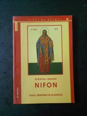 SFANTUL IERARH NIFON - VIATA, MINUNILE SI ACATISTUL foto