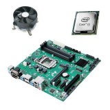 Kit Placa de Baza Refurbished Asus PRIME B250M-C, Intel Core i3-6100T, Cooler