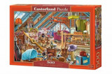 Puzzle The Cluttered Attic, 500 piese, castorland