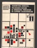 C8985 TRANSMITEREA NUMERICA, PRELUCRAREA DATELOR SI CONDUCEREA PROCESELOR  CU