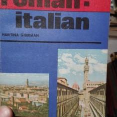 Ghid de conversatie roman-italian – Haritina Gherman