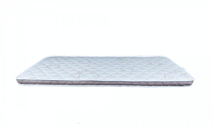 Topper Aloe Merino Cu Doua Fete Din Tesatura De Bambus De Lux Si Lana, H 6 Cm, 180 X 190 Cm, Material Textil Respirabil 3D