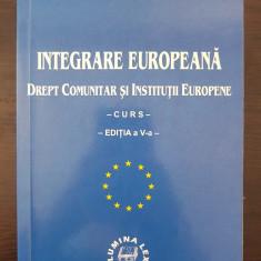 INTEGRARE EUROPEANA DREPT COMUNITAR SI INSTITUTII EUROPENE - Mazilu