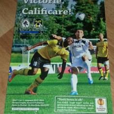 Program Fotbal Gaz Metan Medias KuPS Koupio 2011 Europa league bilet Romania